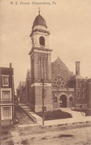 SHIPPENSBURG, Pennsylvania, 1900-1910's; M.E. Church