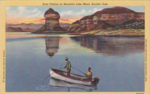 Nevada Boulder Dam Bass Fishing On Beautiful Lake Mead Curteich