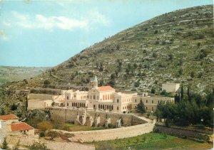 Postcard Palestine Hortus Conclusus convent