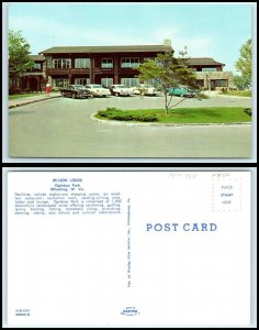 WEST VIRGINIA Postcard - Wheeling, Oglebay Park, Wilson Lodge R45