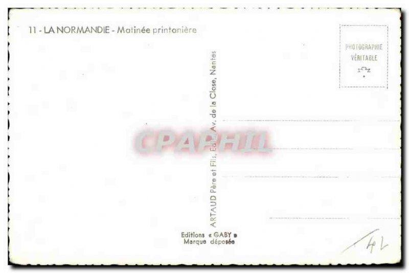 Modern Postcard Normandy Matinee Printaniere