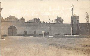 G77/ Little Rock Arkansas RPPC Postcard c1910 State Penitentiary