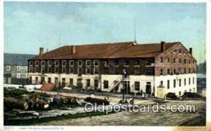 Libby Prison, Richmond, Virginia, USA Prison, Jail, Penitentiary, Postcard Po...