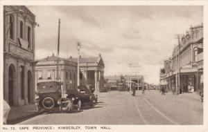 Street view , KIMBERLY , Cape Province , South Africa , 20-30s ; City hall