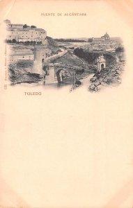Puente de Alcantara Toledo Spain Unused