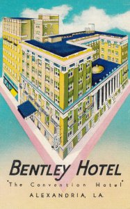 ALEXANDRIA , Louisiana , 1930-40s ; Bentley Hotel