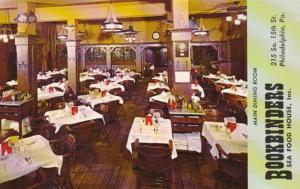 Pennsylvania Philadelphia Bookbinders Sea Food House Dining Room