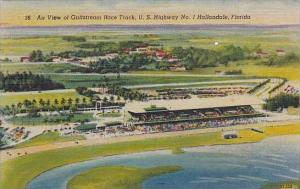 Florida Hallandale Air View Of Gulfstream Race Track