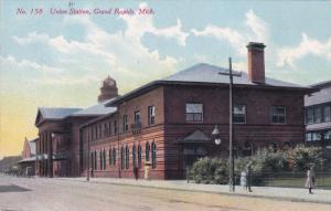 GRAND RAPIDS, Michigan, PU-1910; Union Station