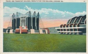 Travel and Transport Building 1933 World Fair - Chicago IL, Illinois - WB