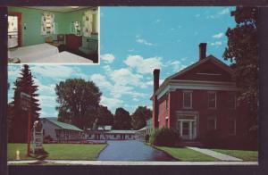 Gateway Motel Waterbury Vermont Post Card 3869