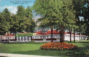 Indiana Winona Lake Billy Sunday Tabernacle