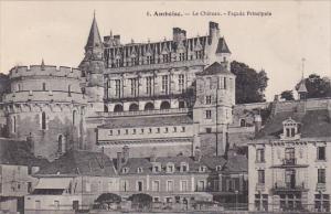 France Amboise Le Chateau Facade Principale