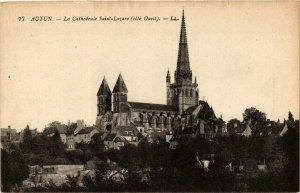 CPA Autun La Cathédrale St-Lazare (649418)
