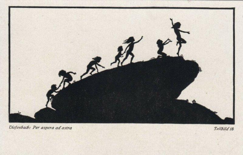 DIEFENBACH : Fantasy Silhouette , 00-10s ; Teilbild 18
