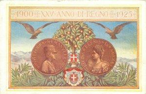 Italy royalty 1900 XXV Anno di Regno 1925 Giubileo Regale ( Royal Jubilee )