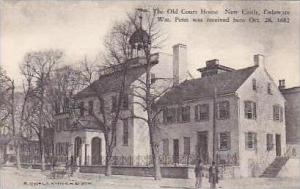 Delaware New Castle The Old Court House William Penn Was Recieved Here 28 Oct...