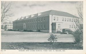 Bakers and Cooks School - Fort George G Meade MD, Maryland