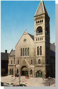 Des Moines, Iowa/IA Postcard, St. Ambrose Catholic Church