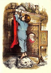 Illustration by Thomas Nast - Merry Christmas
