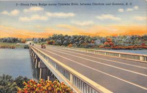 9062  NC Charlotte   Sloans Ferry Bridge Across Catawba River