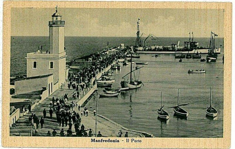 CARTOLINA d'Epoca - FOGGIA: Manfredonia