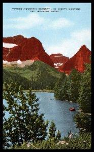 Mountain Scenery,MT