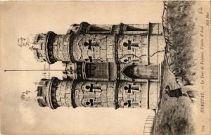 CPA ETRETAT-Le Fort de Frefosse Falaise d'Aval (347745)
