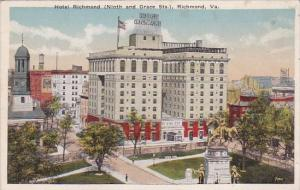 Virginia Richmond Hotel Richmond Ninth And Grace Streets