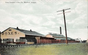 LPS65 Medford Oregon Lowa Lumber & Box Company Postcard