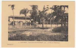 Benin; Dahomey, No 4, 1925 Cotonou Floods, The Catholic Mission PPC By ER Unused