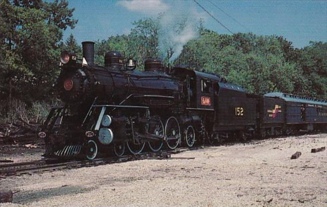 Louisville & Nashville Pacific Class Locomotive Number 152