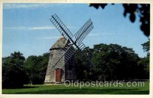 The oldest windmill, Cape Cod, Massachusetts, USA Windmills Postcard Post Car...