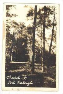 RP  Chapel at Fort Raleigh, North Carolina, 20-30s