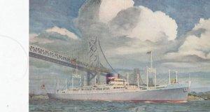 American President Lines Ocean Liner , 1950-60s
