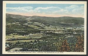 Stamford Valley Mohawk Trail Postcard Berkshire Hills Massachusetts Scenic View