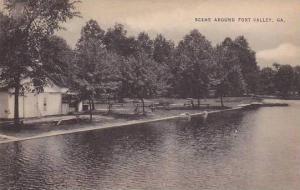Lake scene, Fort Valley, Georgia, 00-10s