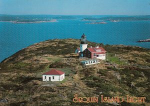 Sequin Island LIGHTHOUSE , Maine , 1991