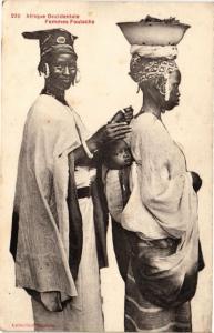 CPA Senegal-Femmes Foulachs (235345)