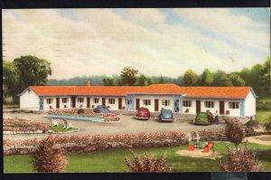 ON GANANOQUE Gateway Motel at West Gate Hwy #2 1000 Islands pm1955 - 1950-1970s