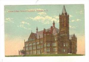 Crouse College, Syracuse University, Syracuse, New York, PU-1916