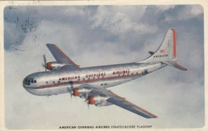 AMERICAN OVERSEAS AIRLINES Stratocruiser Flagship airplane, 1950