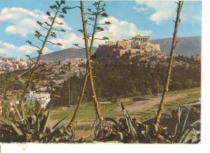 Postal 045718 : Athens - View of the Acropolis