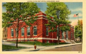 MA - Middleboro. U.S. Post Office