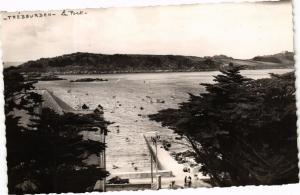 CPA TRÉBEURDEN - Le Port et l'Ile Milliau vus de l'Ermitage (243422)