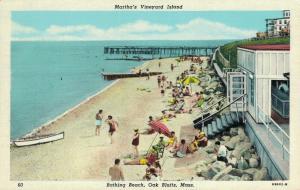 USA Martha's Vineyard Island Bathing Beach Massachusetts 01.62