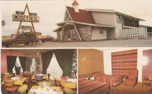 3-Views, Motel Manic Inc., Hauterive, Cte. Saguenay, Quebec, Canada, 40-60s