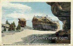 Balanced & Steamboat Rocks - Colorado Springs , Colorado CO