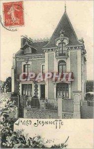 Postcard Old House Jeannette