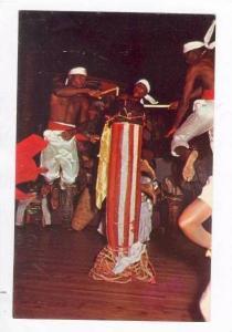 Beating Assotar drum,Rada rites,Shango night club, Hotel Ibo Lele, Petion-Vil...